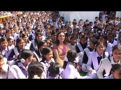 Smt Nita Ambani | Chairperson | Reliance Foundation (Background Footage)