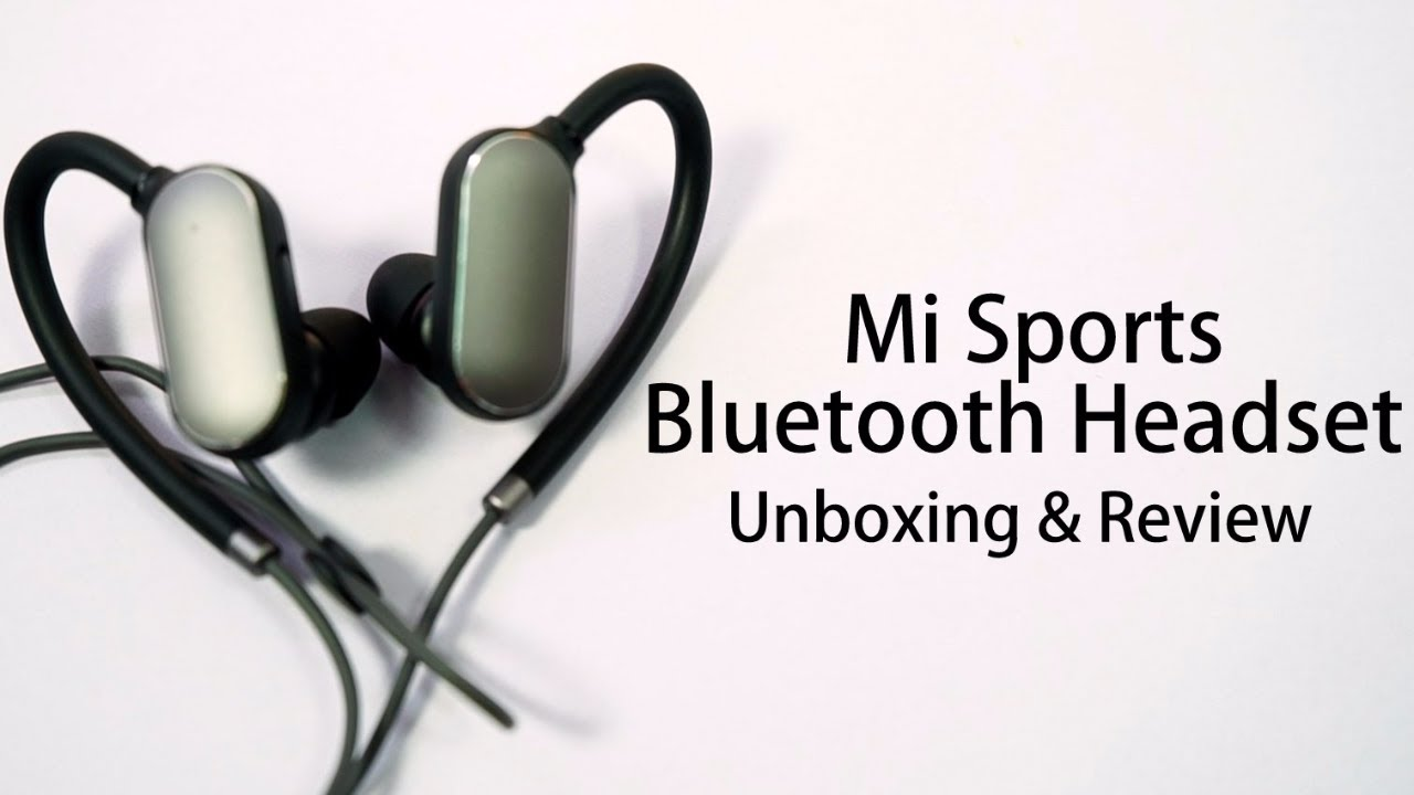 Xiaomi Bluetooth Sport Earbuds Unboxing And Review Youtube