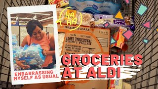 Grocery Shopping at Aldi with  My Sister & Fetch Rewards