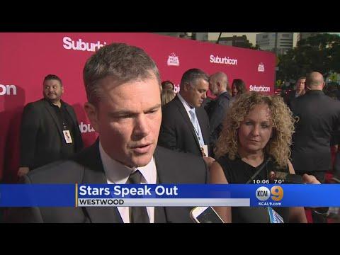 'Suburbicon' Stars Weigh In On Weinstein Scandal