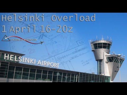 [VATSIM] Helsinki Overload 2017 | Helsinki Ground ATC Timelapse