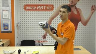 Видеообзор шлифовальной машины DOFFLER AG230-2580 со специалистом от RBT.ru
