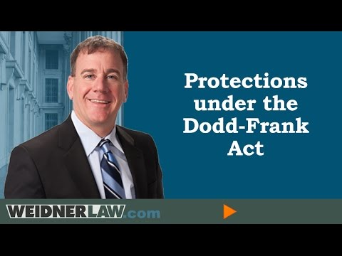 Foreclosure Defense applying the Dodd-Frank Act. http://mattweidnerlaw.com   Attorney Matt Weidner discusses foreclosure defense by applying the power of the new federal law known as the Dodd- Frank Act. Bankruptcy may...