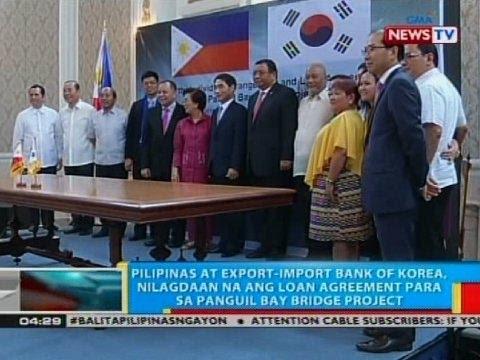 Pilipinas at Export-import Bank of Korea, nilagdaan na ang loan agreement