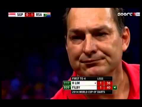 PDC World Cup Of Darts 2014 - Second Round - Graham Filby vs. Harith Lim