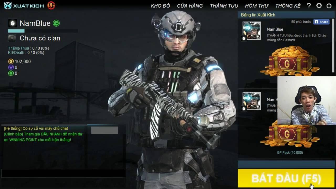 Stream Game | Test Game XUẤT KÍCH cùng Nam Blue ✔