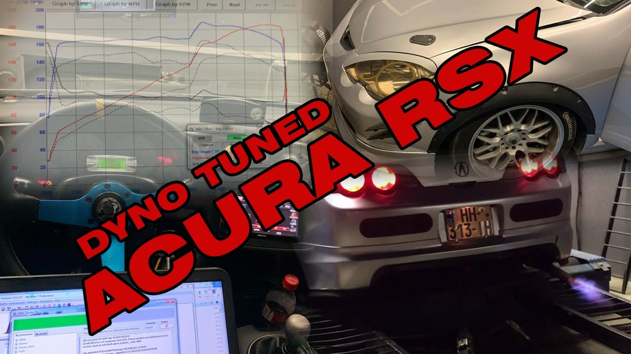 ACURA RSX GAINS 34WHP AFTER TUNE!