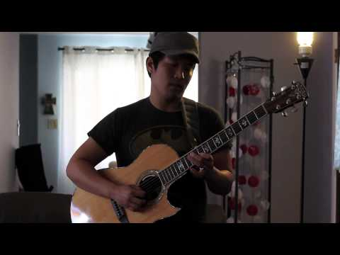 The Way (Ariana Grande ft. Mac Miller)- Looped Acoustic Guitar Jam - Andrew Chae