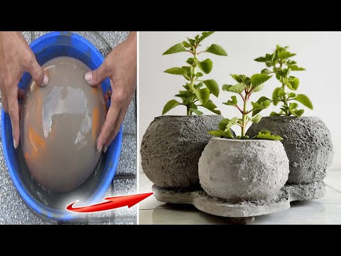 Craft Ideas Cement