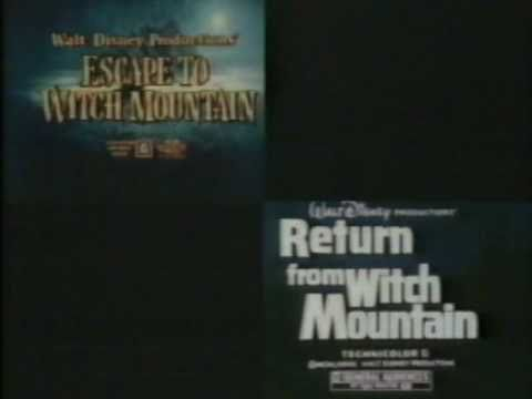 Escape to & Return from Witch Mountain 1978 TV