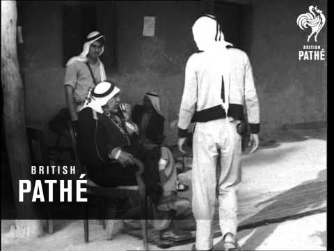 Bedouin Camps In Desert (1955)