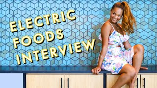 Electric Foods Interview featuring Chef Ahki