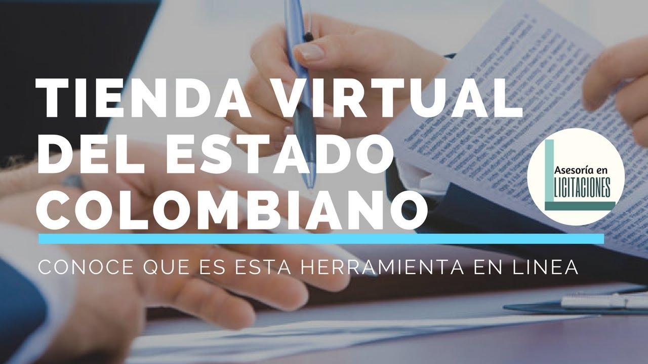 0725624cf7e45 Tienda Virtual Del Estado Colombiano - YouTube