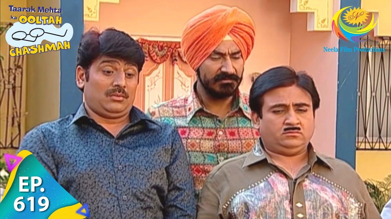 Download Taarak Mehta Ka Ooltah Chashmah - Episode 619 - Full Episode