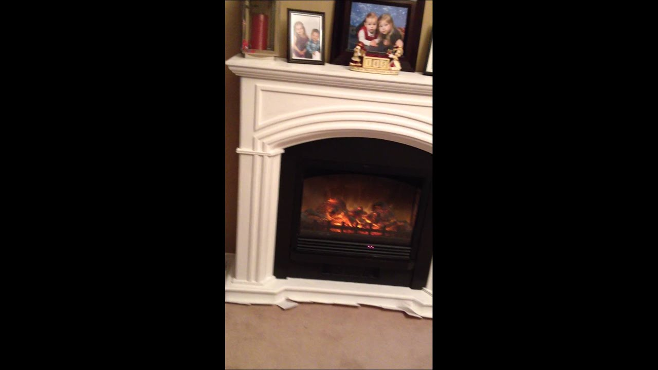 Fireplace Final Result Painted With Annie Sloan Chalk