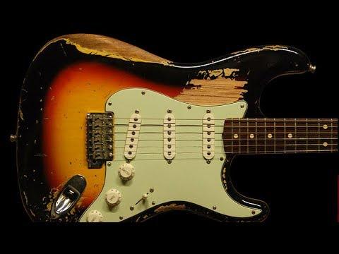 Slow Blues Shuffle   Epic Guitar Backing Track - G Minor