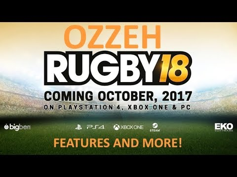 PLAYING RUGBY 15??? – RUGBY 18 – NEWS AND MORE!