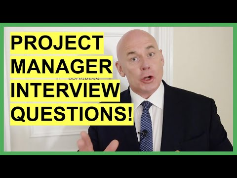 PROJECT MANAGER Interview Questions & ANSWERS! (How to PASS a Project Management Job Interview!)
