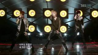 [sbs popular] MB Black - Again, MBLAQ - 611 times again Sunday, March 6, 2011