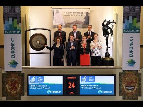Winner SME Export Award sounds gong