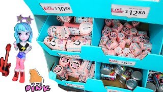 TOY HUNTING! LOL SURPRISE - POOPSY - OFF THE HOOK DOLLS // My Toys Pink