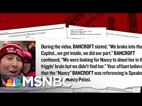 A Closer Look At Several Rioters Used As Evidence In The Case Against Trump | MSNBC