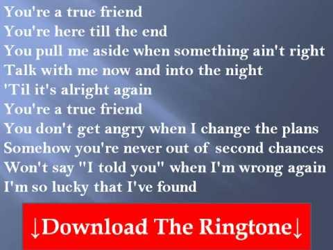 Hannah Montana - True Friend Lyrics | MetroLyrics