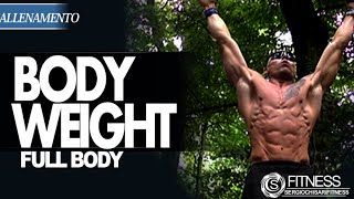 Allenamento Total Body senza pesi - Bodyweight workout-