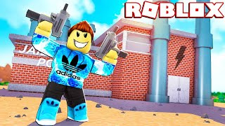 ROBBING ALL THE MONEY IN JAIL BREAK ROBLOX! LIVE STREAM!!