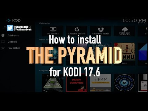 How to install THE PYRAMID Add-on for KODI 17.6 (NEW ADD-ON BETTER THAN COVENANT)