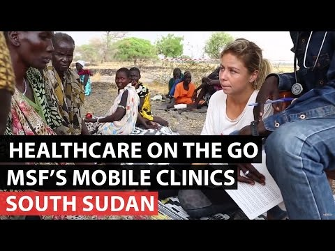 South Sudan | B-roll from MSF's mobile clinics