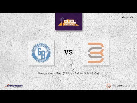 George Harris Prep (CAN) vs Balboa School (CA)