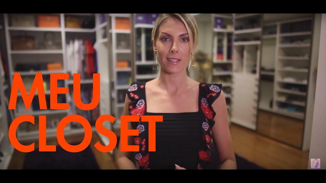 Ana Hickmann mostra o seu closet gigante