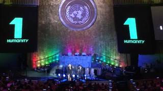 Somewhere over The Rainbow by Alisan Porter  TheVoice WORLD HUMANITARIAN DAY UN NYC