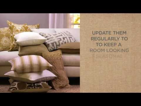Quick and Easy Tips for Decorating with Pillows   Pottery Barn
