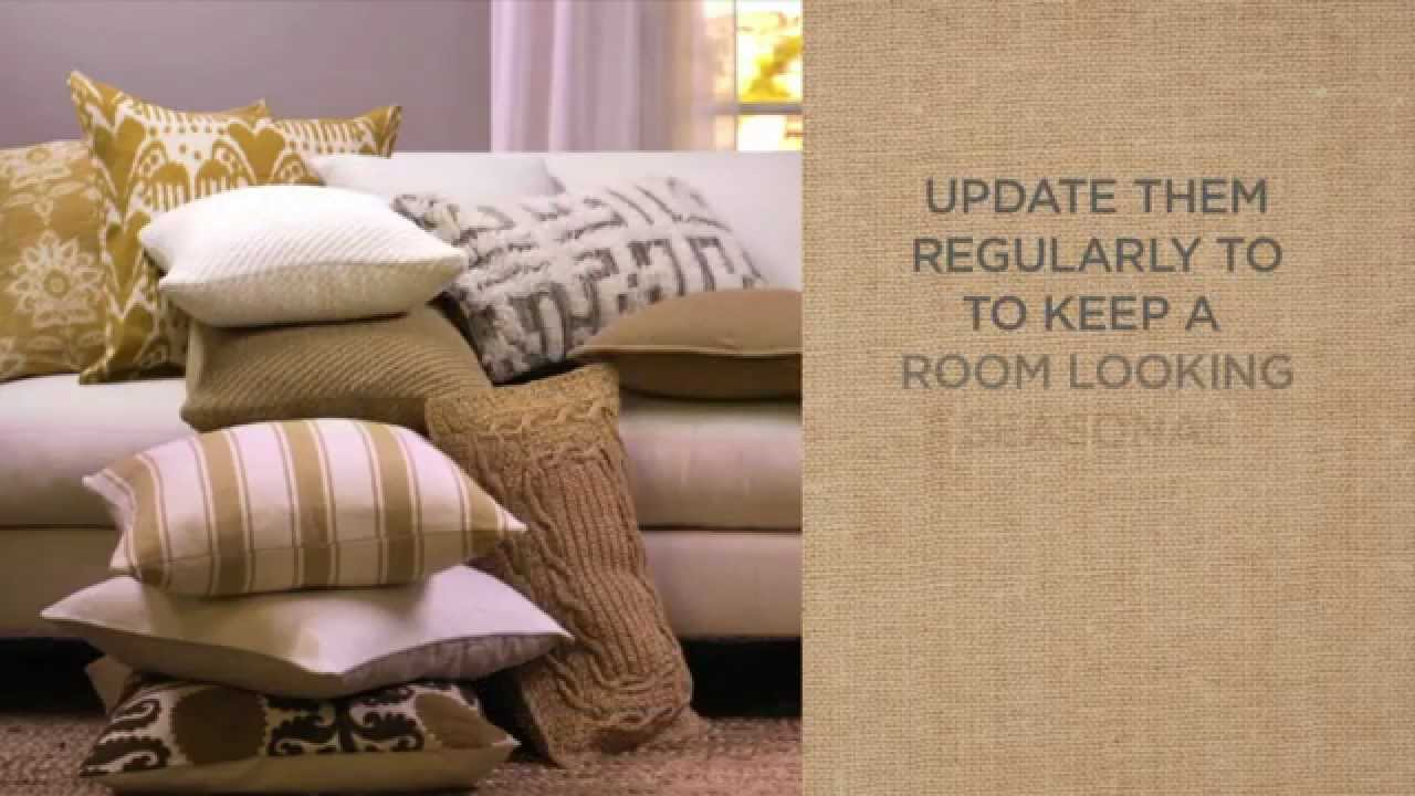 Quick and Easy Tips for Decorating with Pillows | Pottery Barn - YouTube