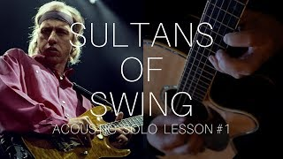 Sultans Of Swing   Licks 1 - 17   Acoustic Guitar Lesson   Dire Straits   NBN Guitar