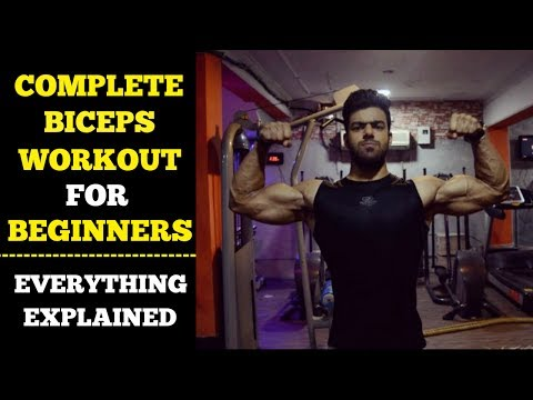 Biceps Workout For Beginners | Thursday | Complete Beginners Guide
