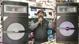 BHARAT ELECTRONICS BEST DJ SYSTEM | 15 INCH SPEAKERS | WATTSAPP NO.9213831053,T&C APPLY