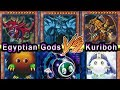 Egyptian Gods Vs Kuriboh  (Yugioh Duel Battle With Deck Profiles)