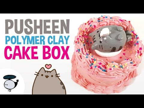 DIY PUSHEEN CAKE BOX [POLYMER CLAY TUTORIAL] from YouTube · Duration:  4 minutes 34 seconds