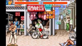 Street Fighter II - The World Warrior - Street Fighter II - The World Warrior (SNES / Super Nintendo) - User video
