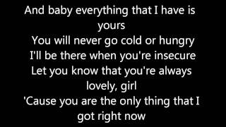 Chris Brown - Next to you (Lyrics on screen) karaoke Fame