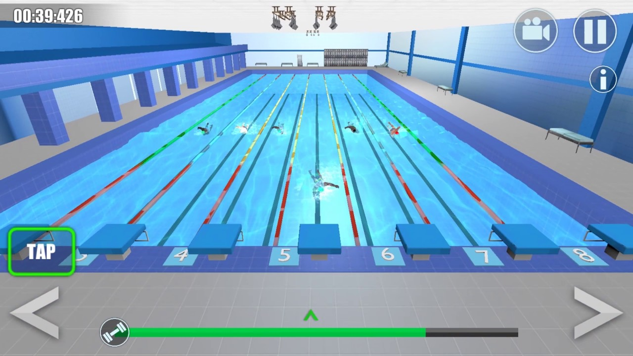 Swimming Pool Race 2017 HD Gameplay Android/IOS