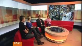 Hot Bikram Yoga - Olga Allon on BBC Breakfast