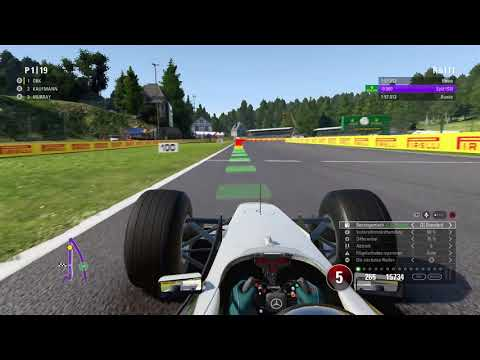 F1 2017 - Classic Cars - Spa 25% - McLaren MP4/13 [HD]