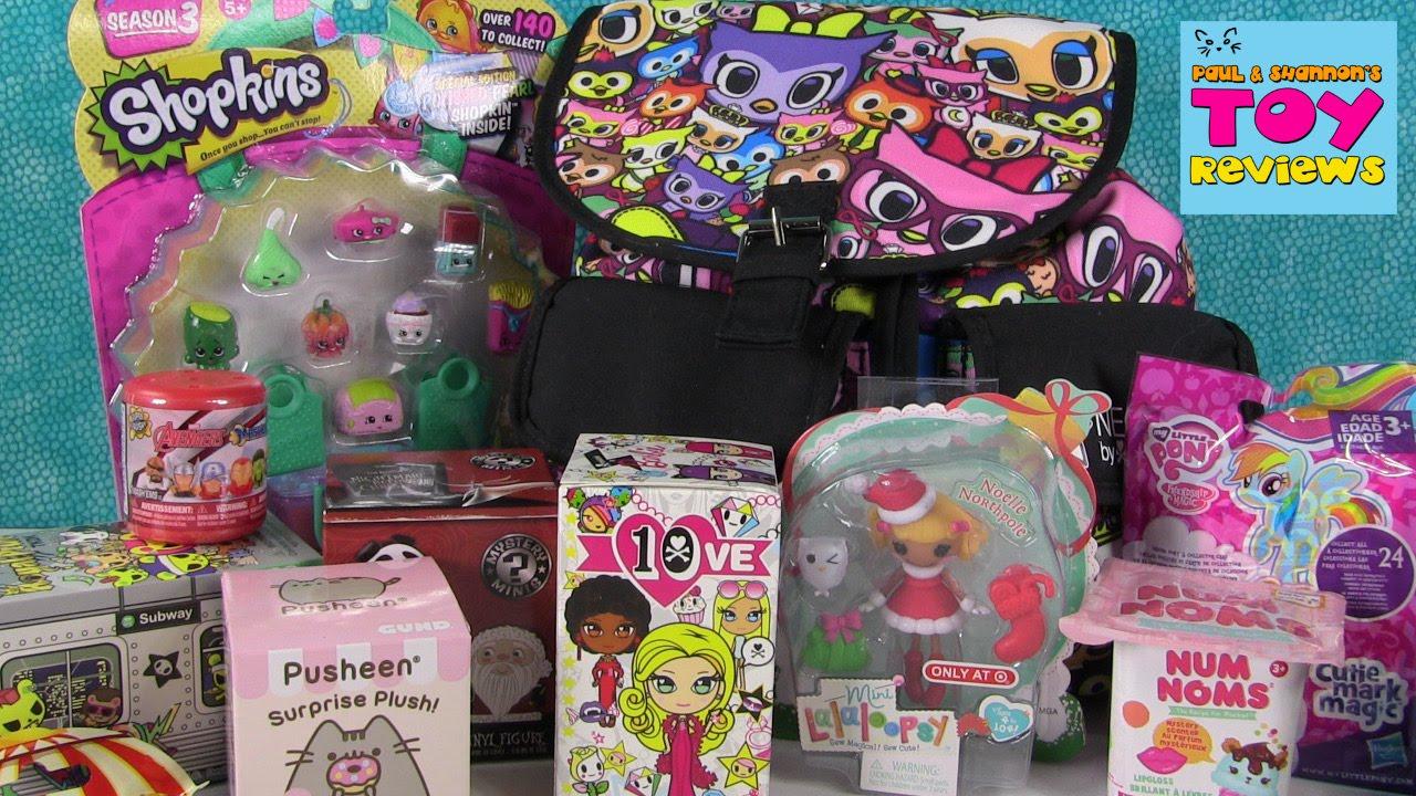 Tokidoki Blind Bag Surprise Backpack Shopkins Mlp