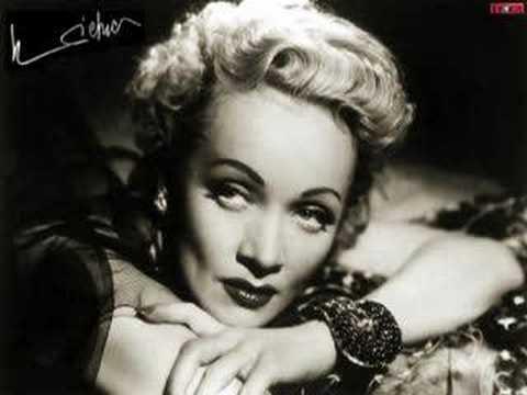 Marlene Dietrich  Bitte geh nicht fort