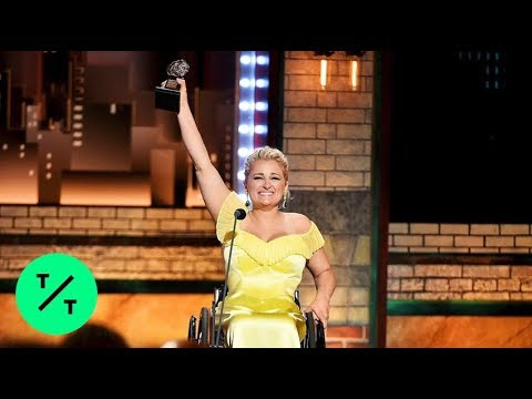 """Glee"" Star Ali Stroker Just Made History With Her 2019 Tony Awards Win"