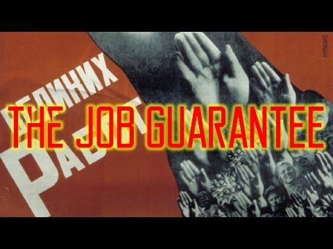 The Universal Job Guarantee
